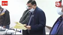 ऊना नगर परिषद व डलहौजी के नवनिर्वाचित पार्षदों ने की शपथ ग्रहण