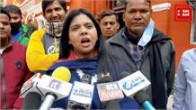 सीएम शिवराज को कांग्रेस की युवा नेत्री की चेतावनी, बीजेपी नेताओं के कब्जों पर नहीं चला बुलडोजर तो...