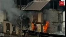 बार एसोसिएशन बारामुला के अध्यक्ष अब्दुल सलाम के घर लगी आग... लाखों का नुकसान