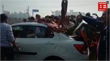 दिल्ली पैरलल नहर में गिरी व्यापारी की कार