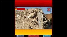 कुख्यात बदन सिंह बद्दो के बंगले की जमीन जब्त, प्रशासन के कब्जे में करोड़ों का मलबा