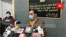 #Live: विधानसभा बजट सत्र को लेकर संसदीय कार्य मंत्री सुरेश भारद्वाज