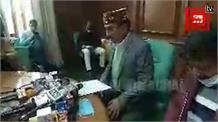 #Live: बजट सत्र को लेकर विधानसभा अध्यक्ष विपिन सिंह परमार
