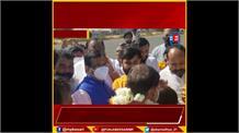 रतलाम पहुंचे बीजेपी प्रदेशाध्यक्ष वीडी शर्मा, हुआ भव्य स्वागत,कार्यकर्ताओं और लोगों से होंगे रु-ब-रु