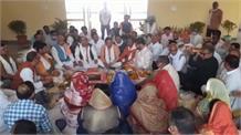 किसान आंदोलन को लेकर मूलचंद शर्मा का बयान, जिसको जैसे फसल बेचनी है बेचे, राजनीति ना करें