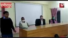 एक साल बाद हुई हमीरपुर सेवानिवृत पुलिस कर्मचारी संघ की बैठक