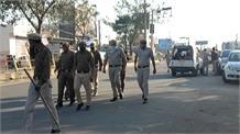 किसानों का विरोध को देख पुलिस की चप्पे चप्पे पर तैनाती, बीजेपी ने भी की बाधा ना डालने की अपील