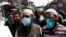 बारामुला में भारी वाहनों के खिलाफ उग्र हुए दुकानदार