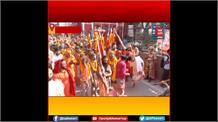Haridwar: कुंभ मेले में आकर्षण का केंद्र बने हठयोगी, बड़ी संख्या में श्रद्धालु कर रहे हैं दर्शन