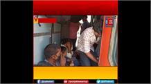 प्रवासियों को सताया LockDown लगने का डर, यात्रियों से खचाखच भरी ट्रेन Mumbai से पहुंची Lucknow