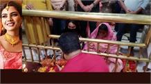 जन्मदिन पर राज्यसभा सांसद इंदु गोस्वामी ने लिया मां ज्वाला का आशीर्वाद
