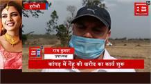 हरोली के कांगड़ में गेंहू की खरीद शुरू,किसानों को अब नहीं जाना पड़ेगा दूसरे राज्य