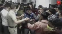 चंबा अस्पताल में मरीज की मौत पर हंगामास, पुलिस से उलझे लोग