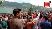 Solan नगर निगम पर कांग्रेस का कब्जा, देखिए जीत का जश्न Live...
