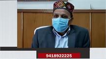 लाहौल स्पीति में covid की रोकथाम को लेकर मंत्री मार्कंडेय दे रहे अहम जानकारी