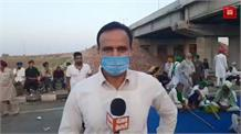 साढ़े 10 घण्टे से केएमपी पर डटे हैं किसान, रात भी केएमपी पर रहेंगे किसान live@ Bahadurgarh