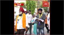 DSGMC Election: शिअद बादल के उम्मीदवार हरपाल सिंह कोछड़ की डोर-टू-डोर कैंपेन