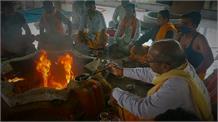 कोरोना की समाप्ति के लिए हुआ Yamunanagar में शतचंडी महायज्ञ, 'जल्द मिलेगा महामारी से छुटकारा'