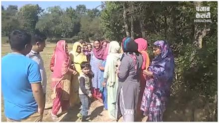 दबंग परिवार की दादागिरी, मनरेगा के तहत बनी सड़क पर कब्जा करने की कोशिश