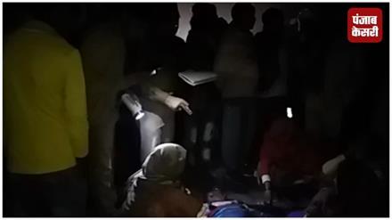 पुलिस का क्रूर चेहरा,किसान फंसा जीप के बंपर में पर नहीं रोकी गाड़ी