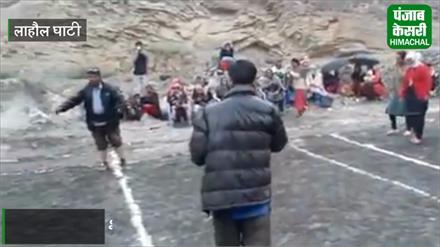 देखिये COLD DESERT @12000 ft पर ग्रामीण महिलाओं का Kabaddi  मैच