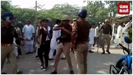 ईद ए मिलाद जुलूस के दौरान दो पक्षों में हुआ पथराव, कई पुलिसकर्मी घायल