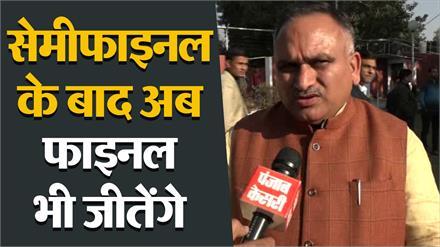 निगम चुनावों में क्लीन स्वीप करने के बाद CM के सलहाकार Rajiv Jain  से खास बातचीत