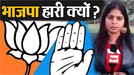 चुनावों के रुझानों में BJP की हार, सुनिए क्या बोले भाजपा नेता