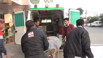 मिश्ररवाला में ट्रक से टकराई बाइक, हादसे में एक की मौत एक घायल