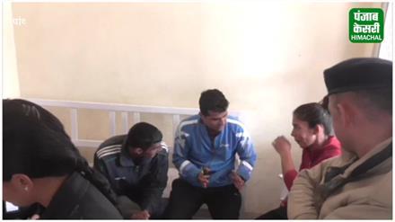 पांवटा में ITBP की बस दुर्घटनाग्रस्त, आधा दर्जन जवान घायल