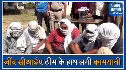 लूट की बड़ी वारदात को अंजाम देने की फिराक में थे लूटरे,पुलिस ने किया काबू