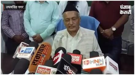 पत्रकार के सवाल पर भड़के बीजेपी सांसद, कहा- 'तुम नेता हो या पत्रकार'