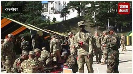 भारत-अमेरिका के सैनिकों के बीच आंतकवाद से निपटने के लिए 'संयुक्त सैन्य युद्ध अभ्यास' शुरु