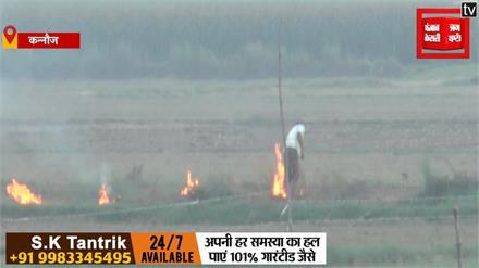 वायु प्रदूषण पर सख्त हुआ कृषि विभाग, पराली जलाने पर किसान के खिलाफ कार्रवाई