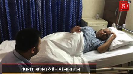 Lalu Prasad Yadv से मिलने पहुंचे विधायक और मंत्रियों ने की रिहाई की मांग, अस्वस्थ हैं लालू