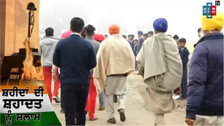 मोगा: नम आखों से दी जा रही है जैमल सिंह को अंतिम विदाई