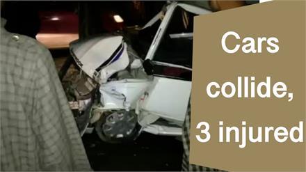 Ganderbal में 2 कारों की जोरदार भिड़ंत, हादसे में महिला समेत 3 लोग critical injured