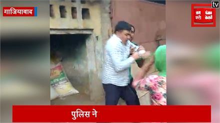 दंबगों ने की पुलिस चौकी में तोड़फोड़, महिला को भी पीटा