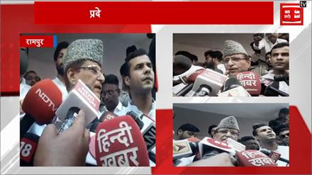 मतदान के बाद बोले आजम खान, कहा-हमारा चुनाव बीजेपी से नहीं प्रशासन से है
