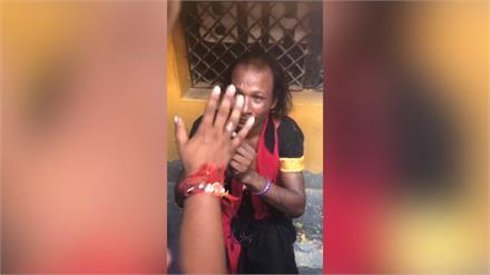 बच्चा चोरी की अफवाह निर्दोष को पड़ी भारी, लोगों ने जमकर की पिटाई