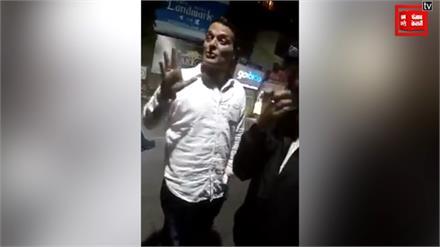 पुलिस ने काटा ड्रंक एंड ड्राइव का चालान, जनाब बोले सीएम को बोलकर करा दूंगा बदली