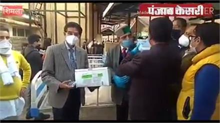 कांग्रेस की बड़ी पहल,अस्पताल में दान किए उपकरण