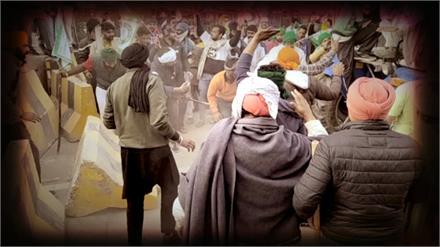 टिकरी बॉर्डर पर आखिरकार नर्म पड़ी दिल्ली पुलिस, लंबी जद्दोजहद के बाद किसानों को दी इजाजत
