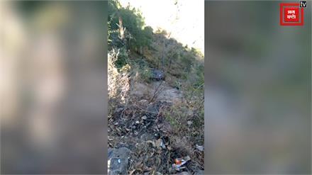करसोग के तरौर में खाई में लुढ़का टिप्पर, चालक की मौके पर मौत