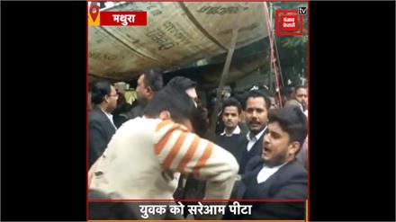 Lawyer की दंबगई, ओवरटेक करने से रोकने पर युवक को सरेआम पीटा