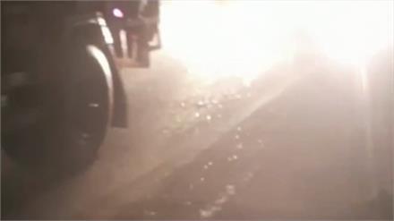 घने कोहरे की वजह सेनेशनल हाईवे पर फिर एक बार कई वाहन आपस में टकराए, कई लोग घायल