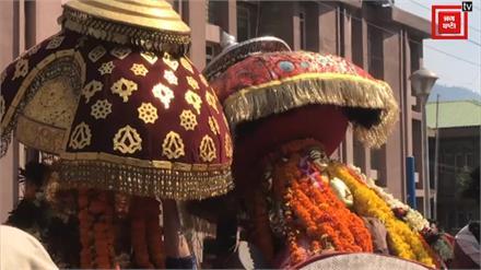 देव बड़ा छमाहू के साथ देवता बिठू नारायण का ऐतिहासिक देव मिलन