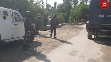 शोपियां में 2 से 3 आतंकवादियों को सुरक्षाबलों ने घेरा, एनकाउंटर जारी