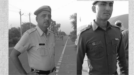 शहीद होते-होते रविंद्र कर गया अपना काम, हथेली पर लिखा मिला अपराधियों की गाड़ी का नंबर