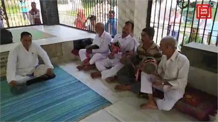 हमीरपुर के लहड़ा गुगा की रक्षाबंधन आरती / बारात live